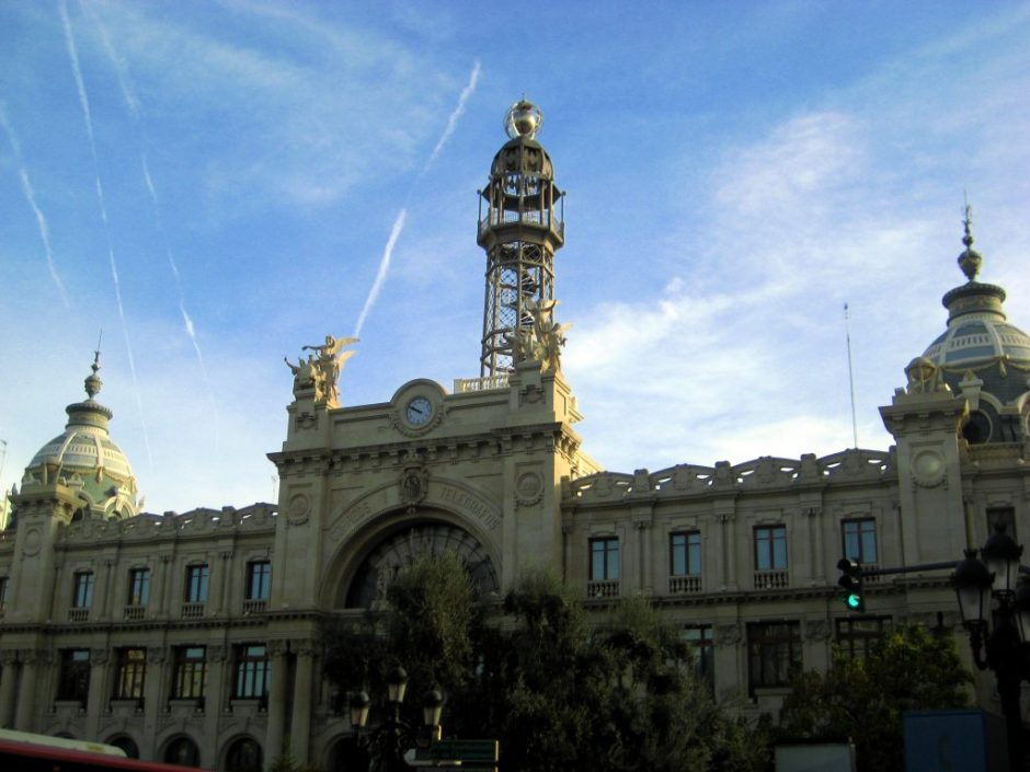 Postal Office, Valencia, Spain