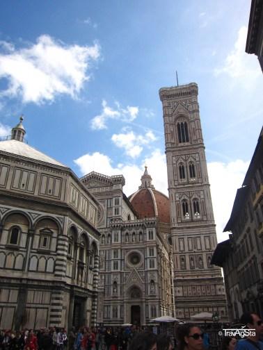 Campanile di Giotto, Piazza del Domo, Florence, Tuscany, Italy