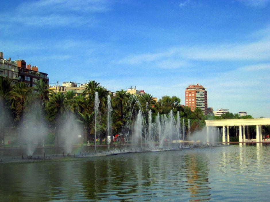 Jardin del Turía, Valencia, Spain