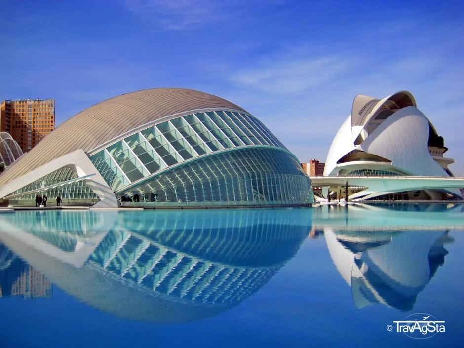 L'Hermisfèric, Ciutat de les Arts i de les Ciències, Valencia, Spain