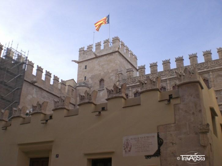 La Lonja de la Seda, Valencia, Spain