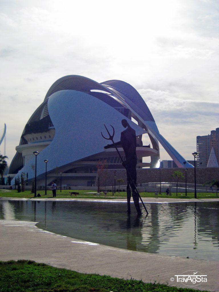 Palau de les Arts Reina Sofía, Ciutat de les Arts i de les Ciències, Valencia, Spain