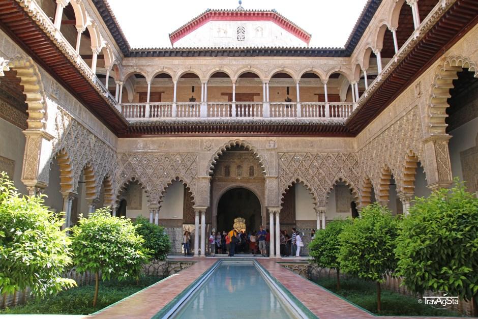 Alcázar Palace, Sevilla, Andalusia, Spain