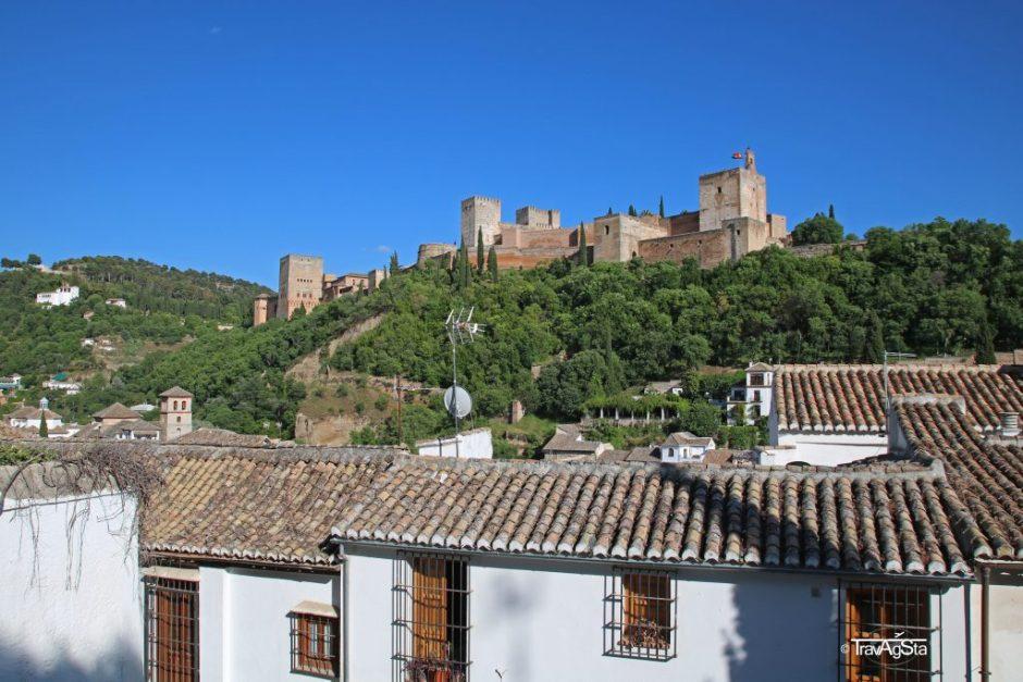 Mirador de los Carvajales, Granada, Andalusia, Spain