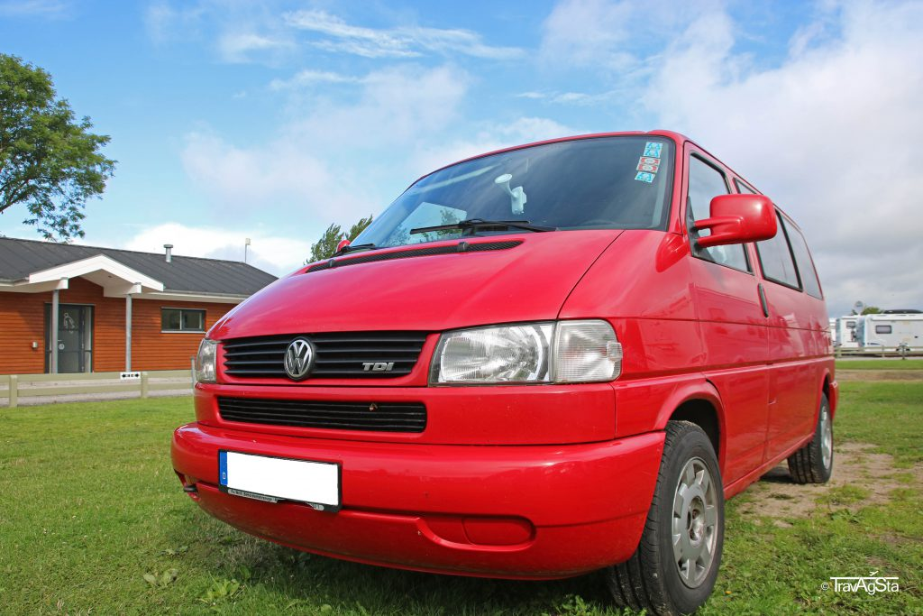 Volkswagen minibus, Denmark
