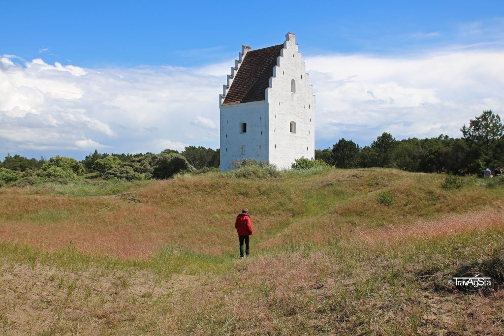 The Sand-Covered Church, Skagen, Denmark