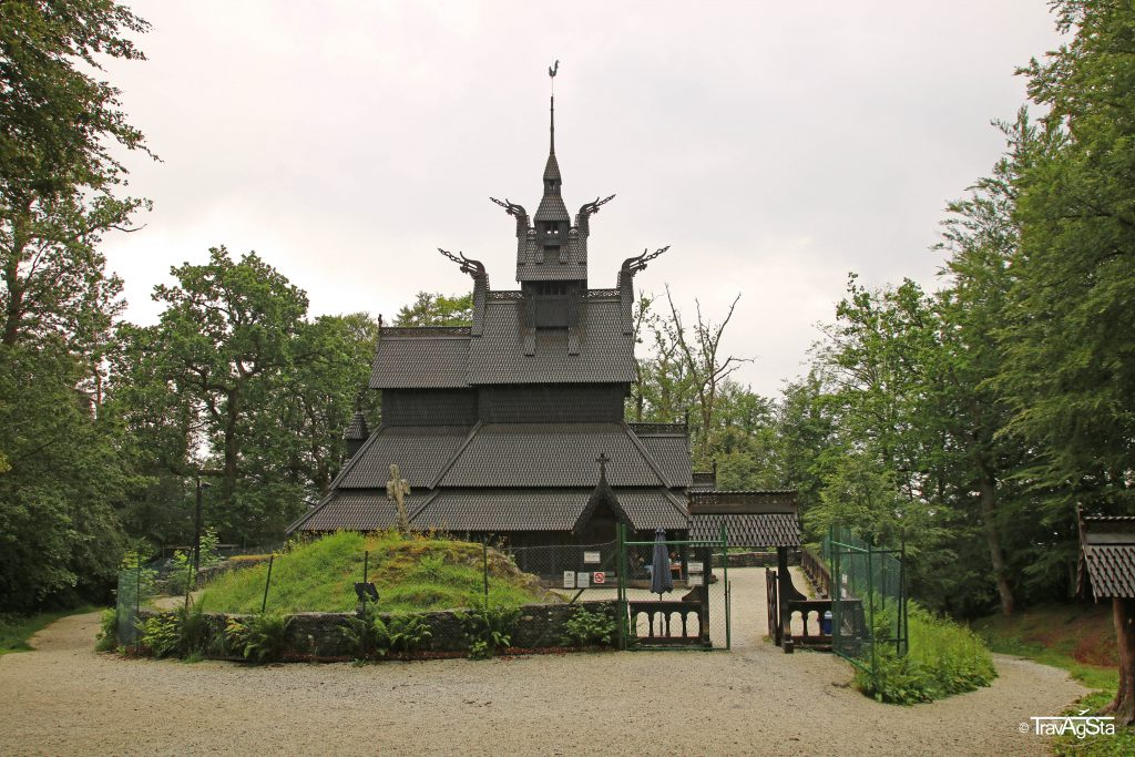 Stave Church Fantoft, Bergen, Norway