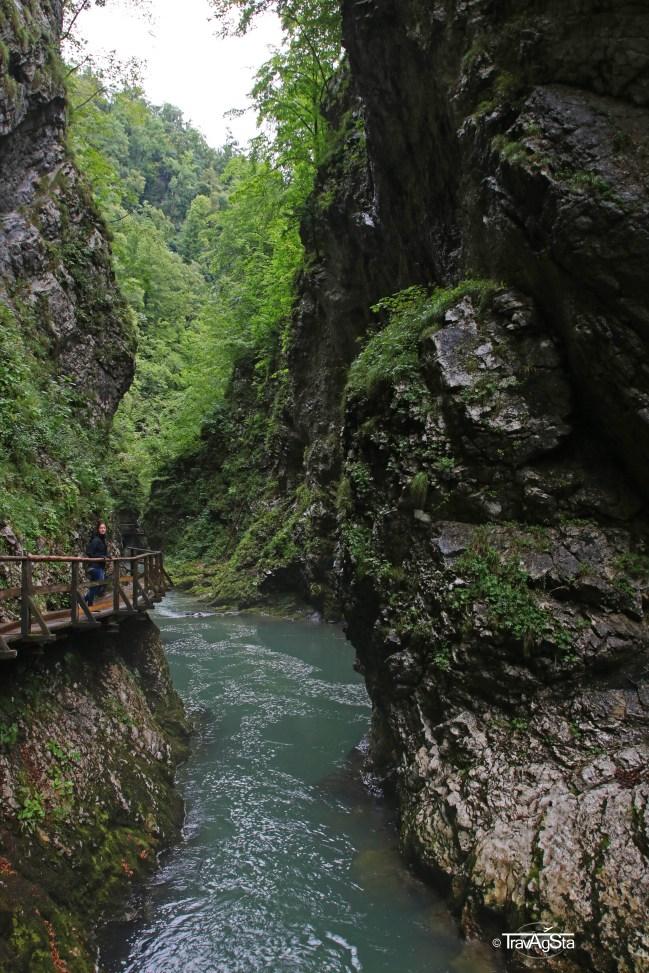 Vintgar Gorge, Triglav National Park, Slovenia