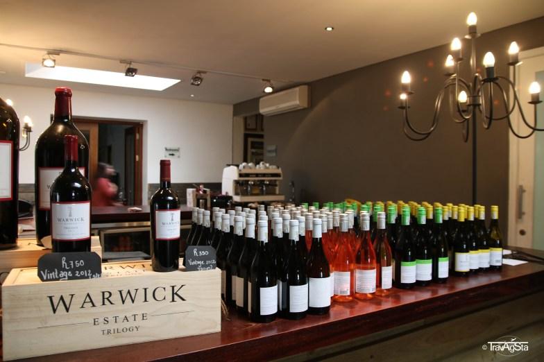 Warwick Wine Estate, Stellenbosch, South Africa