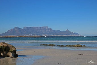 Bloubergstrand, View of Table Mountain, Cape Town, South Africa