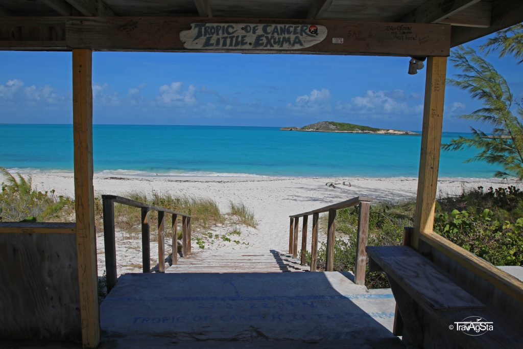 Tropic of Cancer Beach, Little Exuma The Bahamas
