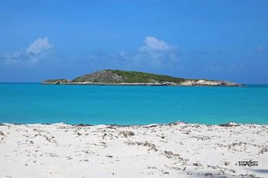 Tropic of Cancer Beach, Little Exuma. The Bahamas