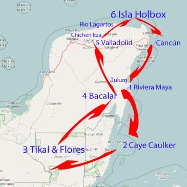 Routenempfehlung für 2 ½ Wochen Mittelamerika – Die Ruta Maya in Yucatán, Belize und Guatemala!