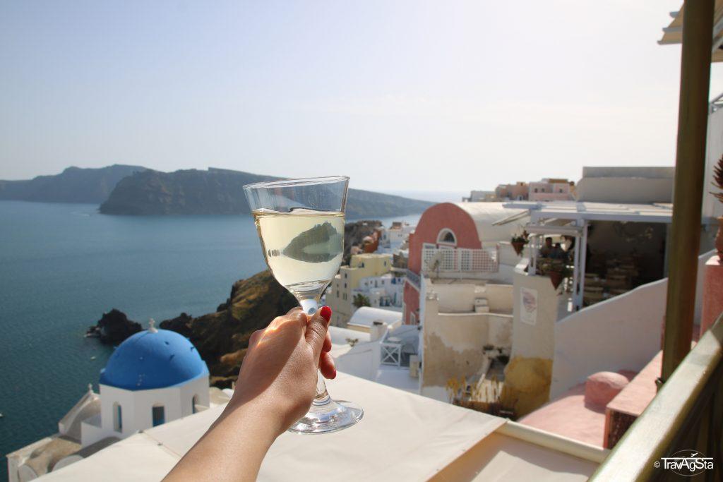 Melenio Café, Oía, Santorini, Greece