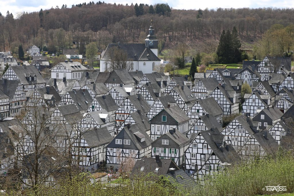 Alter Flecken, Freudenberg, Nordrhein-Westfalen, Germany