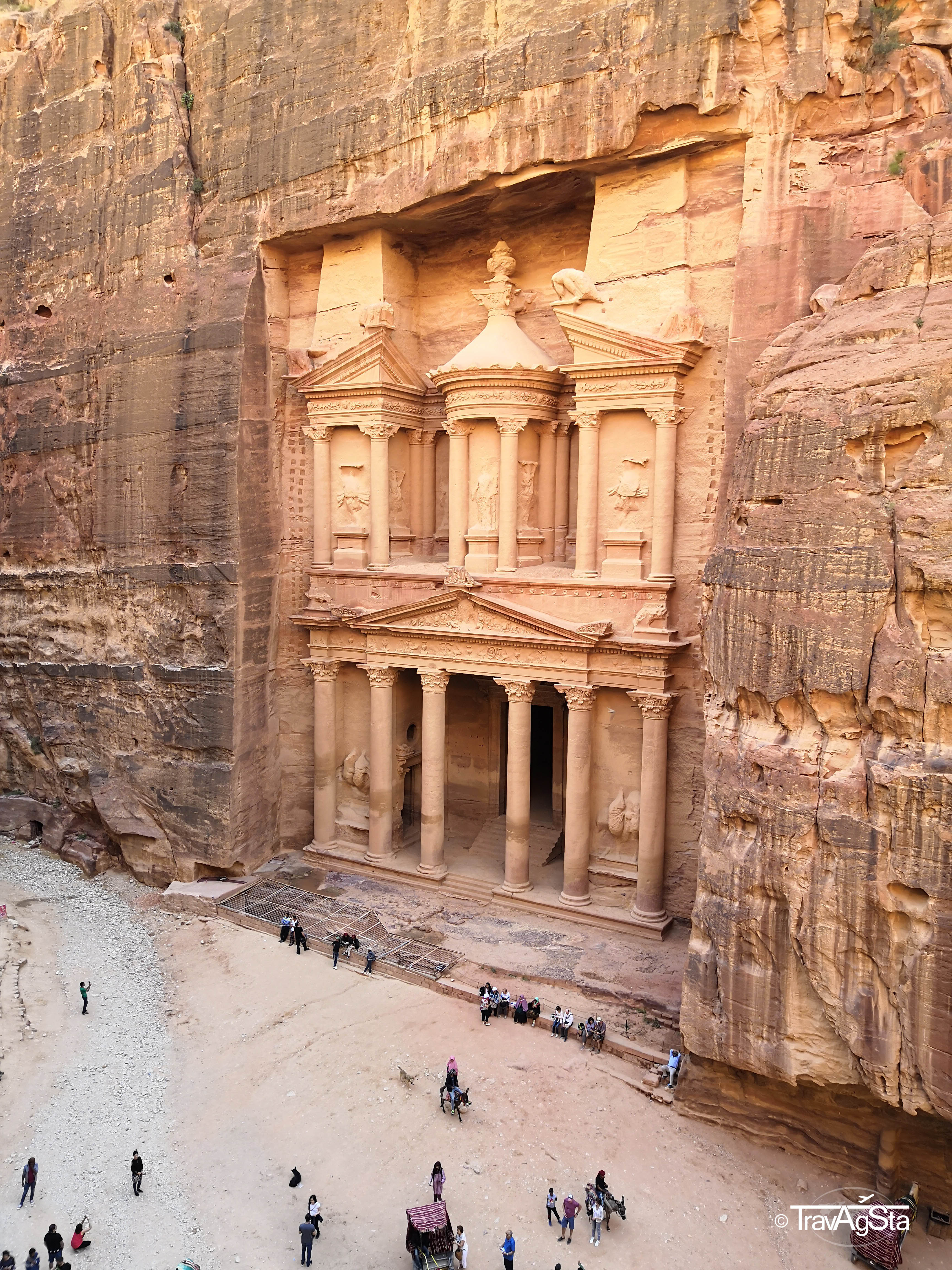 Petra, Jordan: One of the New 7 Wonders of the World!