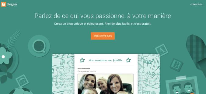 blogger créer un blog