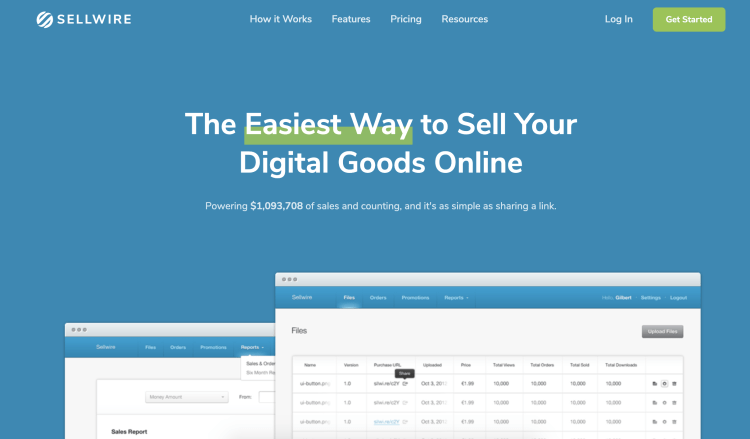 SellWire, the simple plugin to set up