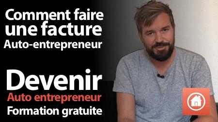 facture auto entrepreneur