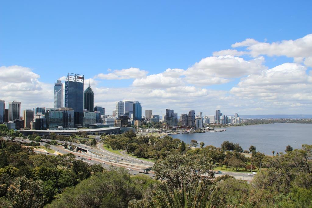 vivre a perth australie