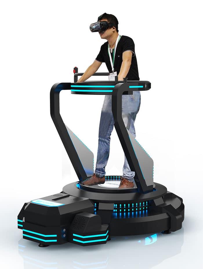 plateforme vibration 3D, réalité virtuelle