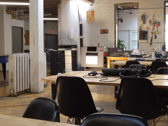 Coin fabrication chez Project Spaces