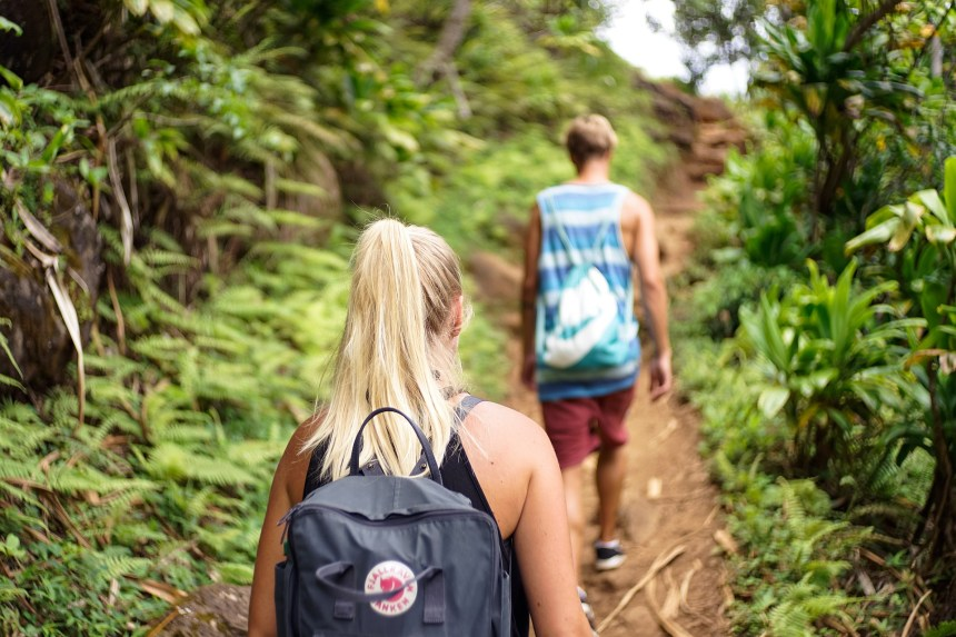 ecotourism and hiking