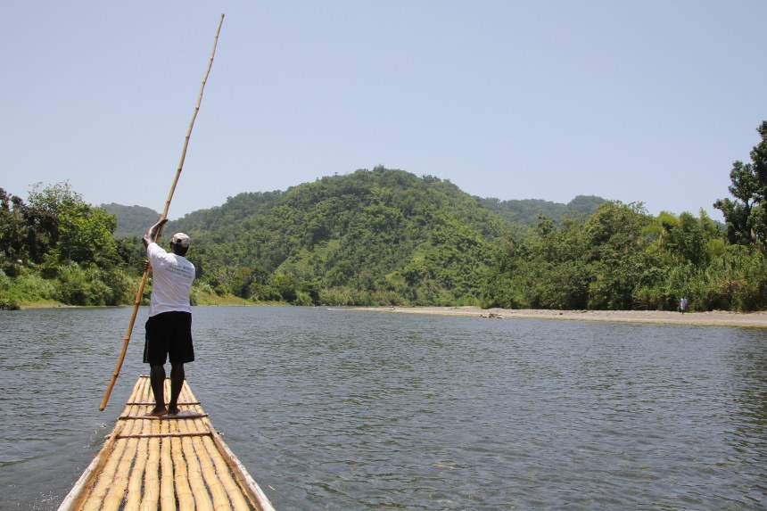 ecotourism in Jamaica raft