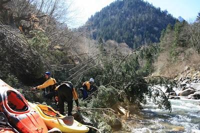 Nettoyage rivière Cauterets