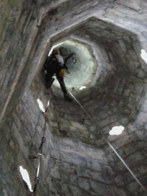 Travaux en hauteur, Basilique Lourdes