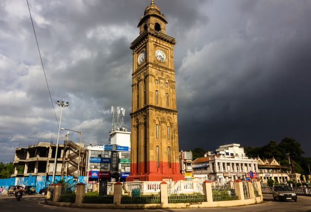 The clock tower of Mysore