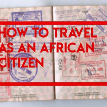 How to travel as an African citizen