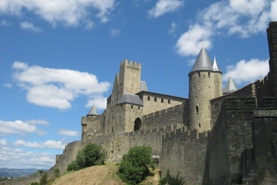 Carcassone, courtesy of Girl with a Saddle Bag