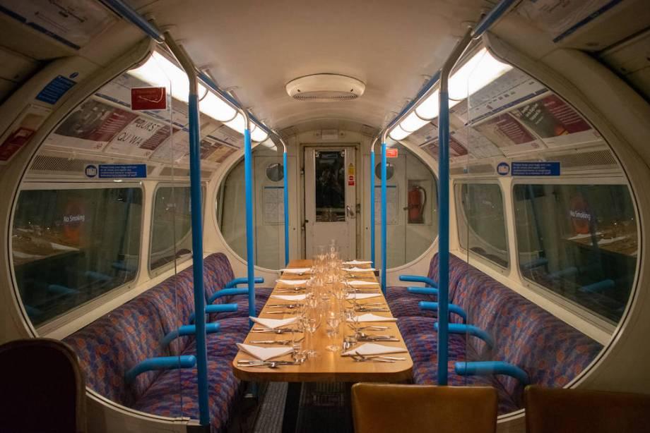 Underground Supper Club, courtesy of LondonCityCalling