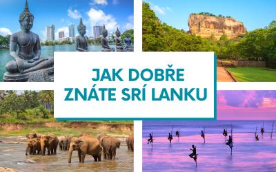Kvíz – Jak dobře znáte Srí Lanku?