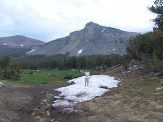 Snow in July - Tioga Pass