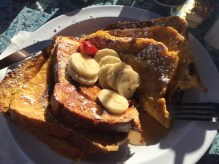 French Toast @ The Olive Cafe, Mission Beach