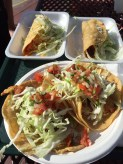 Hole-in-the-wall fish tacos