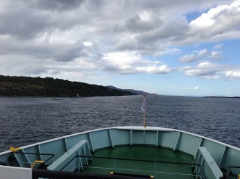 On the ferry to Islay