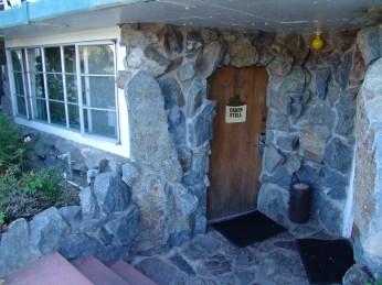 Door to Cabin Still Room, Madonna Inn