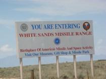Felt a little weird to follow the road after that sign!