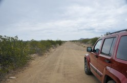 Dirt road somewhere in Big Bend National Park, TX