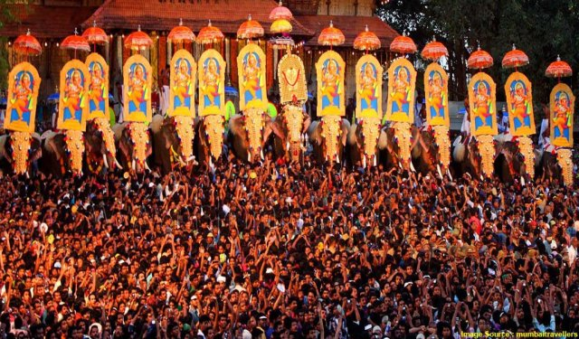Fairs And Festivals Of India In April : Thissur Festival