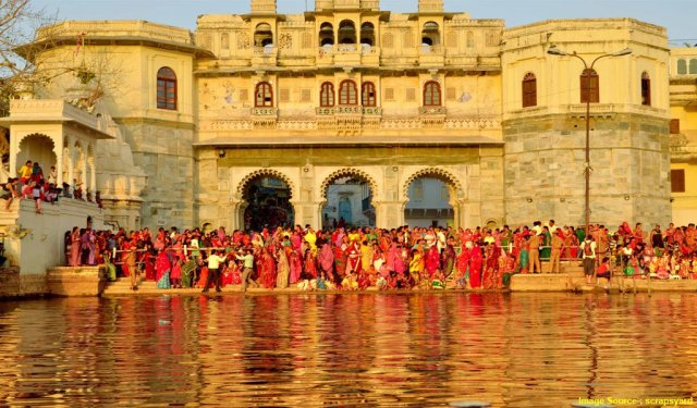 Fairs And Festivals Of India In April : Mewar Festival