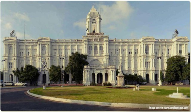 Historical Places in South India : Chennai-Experiencing the British Era