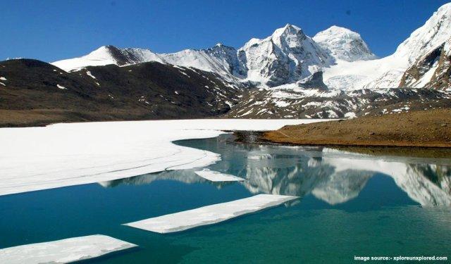 Frozen Gurudongmar Lake, Sikkim