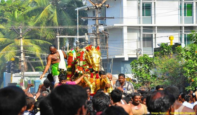 Fairs And Festivals Of India In April : Chithirai festival