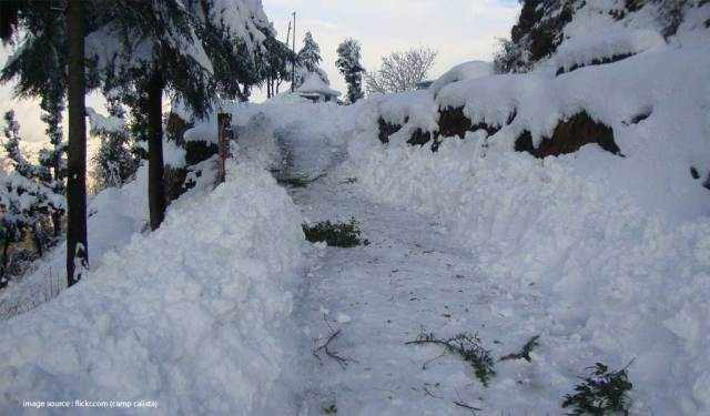 Places To Visit For Snowfall In India