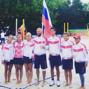 Юниорская сборная России по пляжному теннису Юниорская сборная России по пляжному теннису