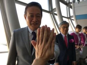 9/24peach仙台ー新千歳線新規就航 (セレモニー編)